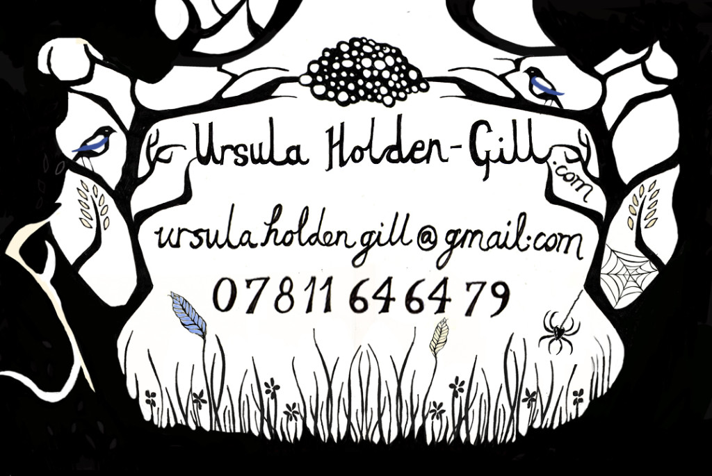Ursual Holden Gill @ gmail contact details